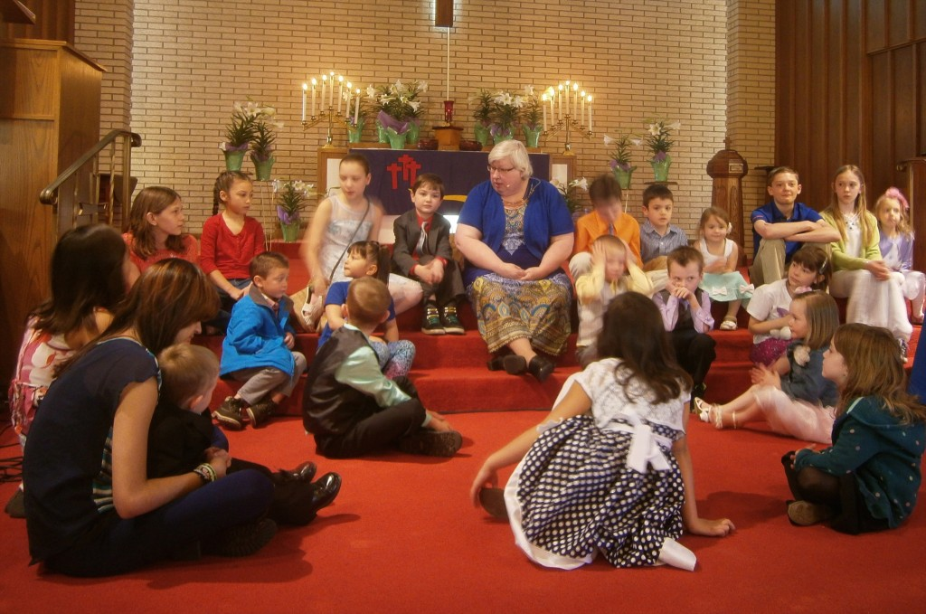 Children's Time on Easter Sunday
